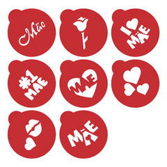 Kit Mini Stencils Mães