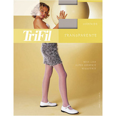 MEIA CALA INFANTIL TRANSPARENTE TRIFIL 6851
