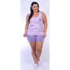 Short doll regata Plus Size 1762
